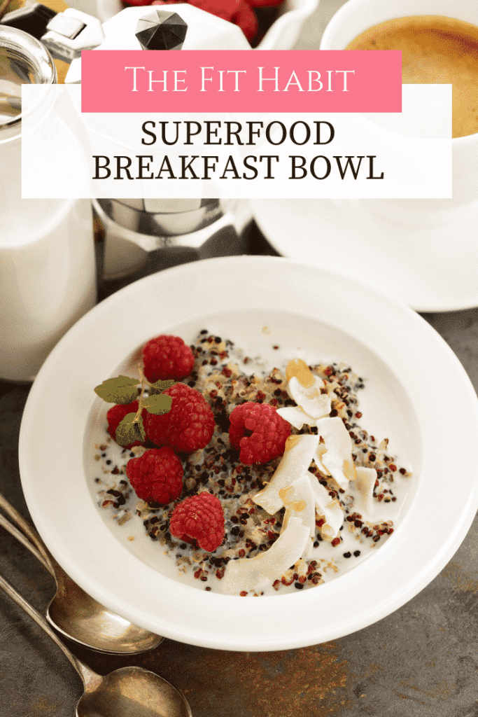 superfood breakfast bowl gluten free low carb