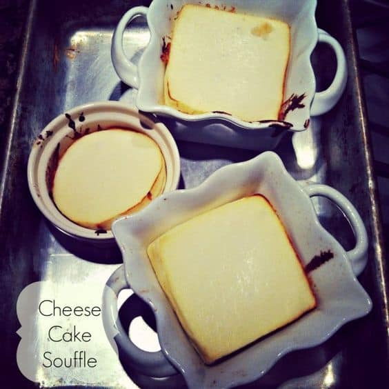 low carb cheese cake souffle