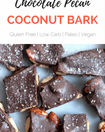 chocolate coconut pecan bark