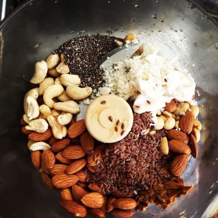 Almond Butter Recipe with Cashews and Peanuts