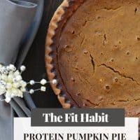 Healthy Pumpkin Pie | Gluten and Sugar Free