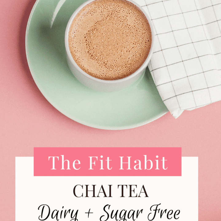 Simple Chai Tea Recipe - Dairy & Sugar free
