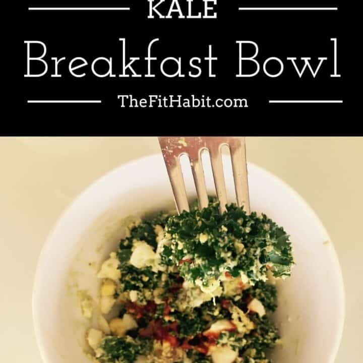 Avocado, Egg + Kale Breakfast Bowl Recipe