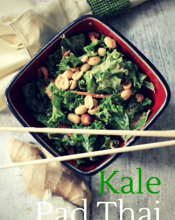 kale thai salad
