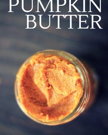 sugar free pumpkin butter
