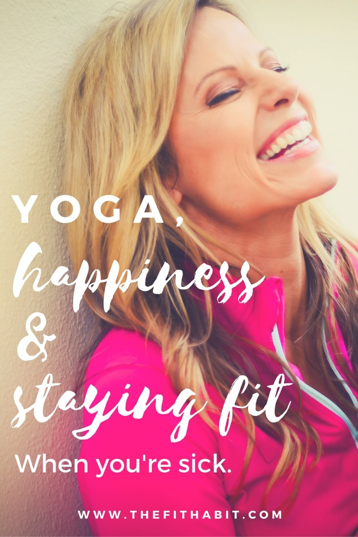 yoga happiness staying fit