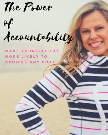 accountability and goal setting