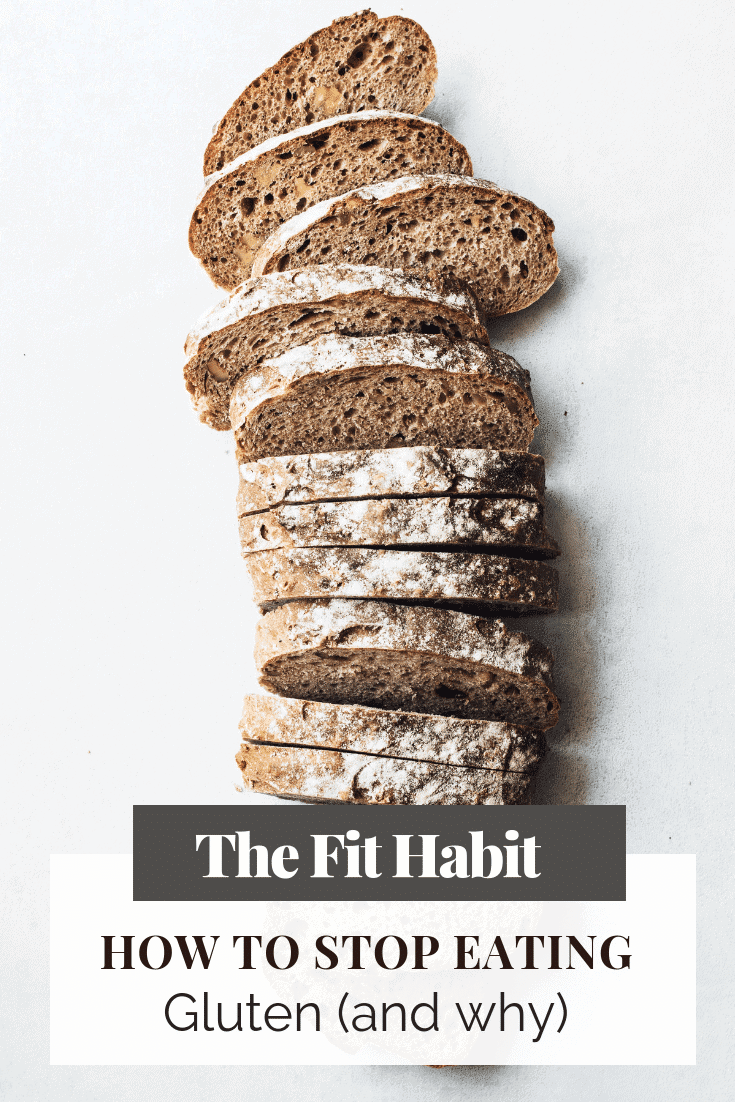 bread gluten, stop eating