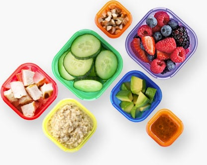 how to follow a beachbody meal plan without the containers