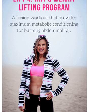 Belly fat burning programs