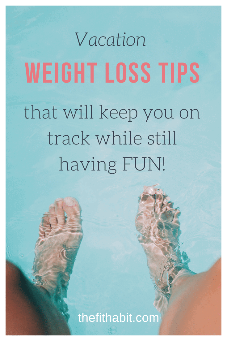 lose weight on vacation