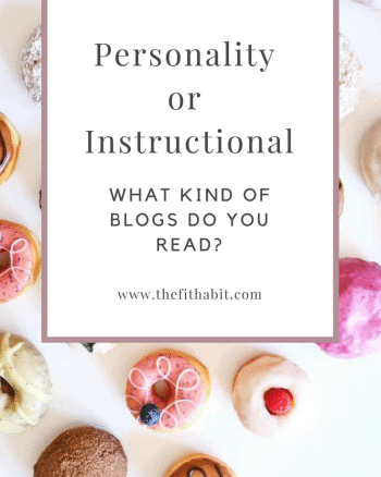 personality or useful blog