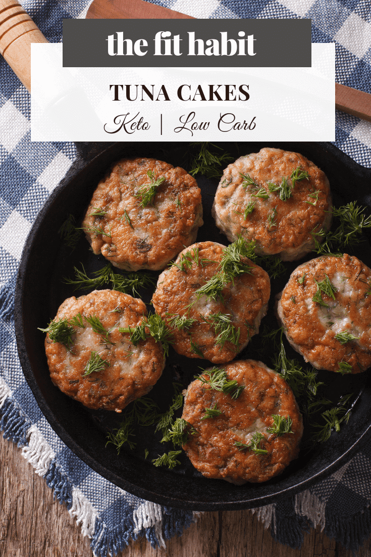 simple tuna cakes - low carb and keto