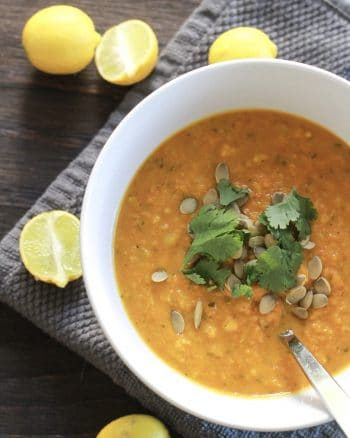 butternut ginger turmeric soup recipe