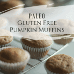 tray of paleo pumpkin muffins
