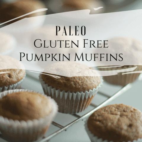Paleo Pumpkin Muffins | Low Carb + Sugar Free