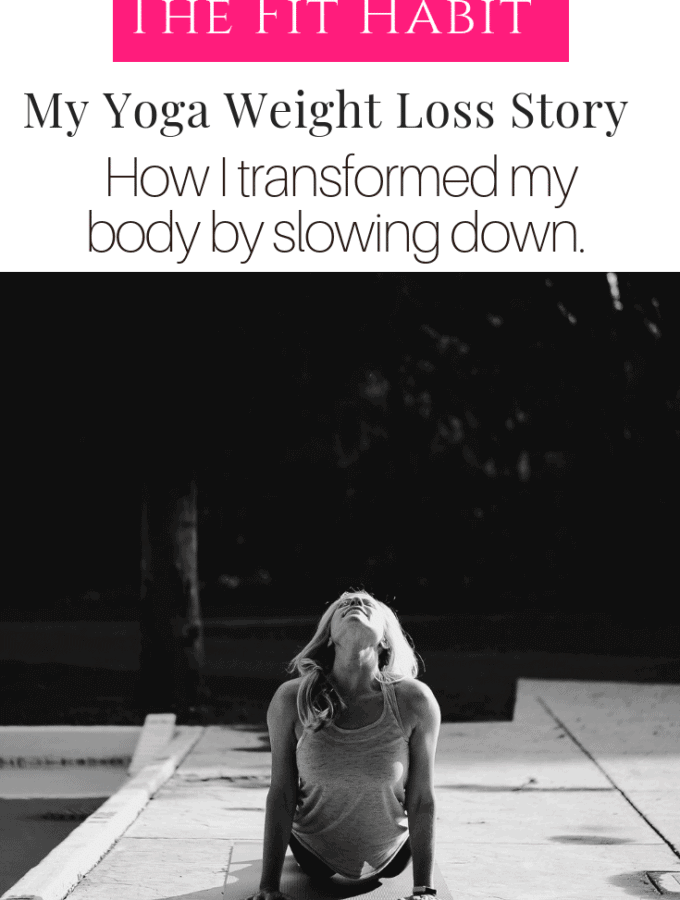yoga weight loss story