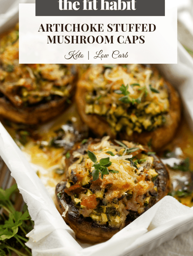 low carb stuffed mushrooms - keto and gluten free