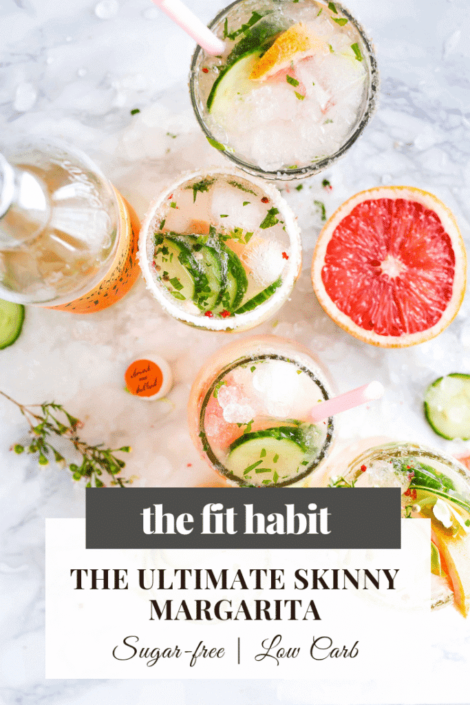 ultimate skinny margarita