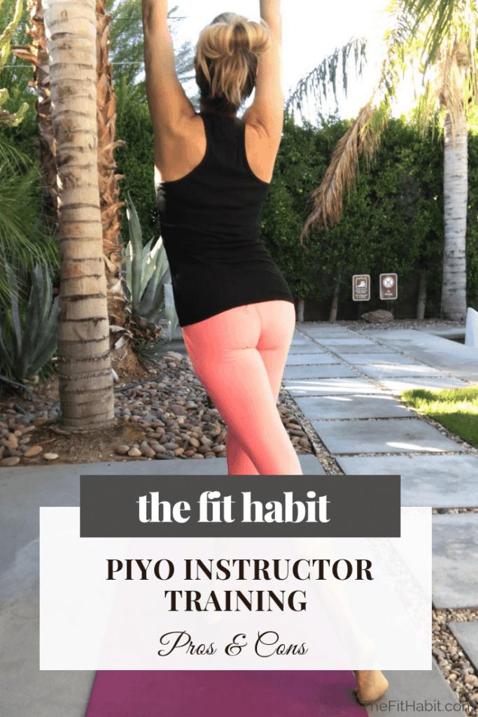 Piyo class training