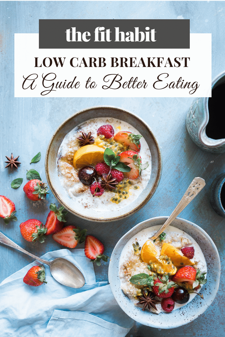 low carb breakfast ideas