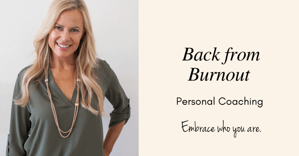 Burnout coaching for professional women