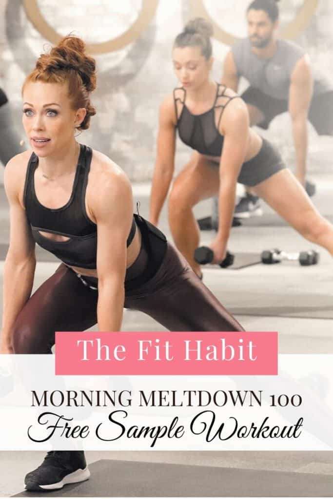 Morning Meltdown 100 | Results, before and afters and a free sample workout you can try at home.