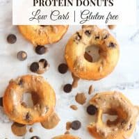 Protein Donuts - Low Carb, Gluten Free
