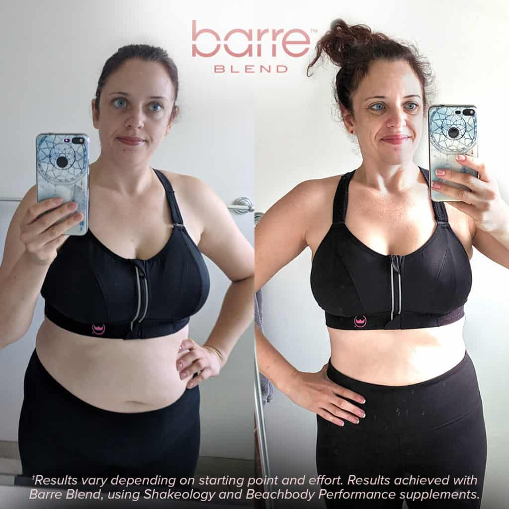 barre blend results