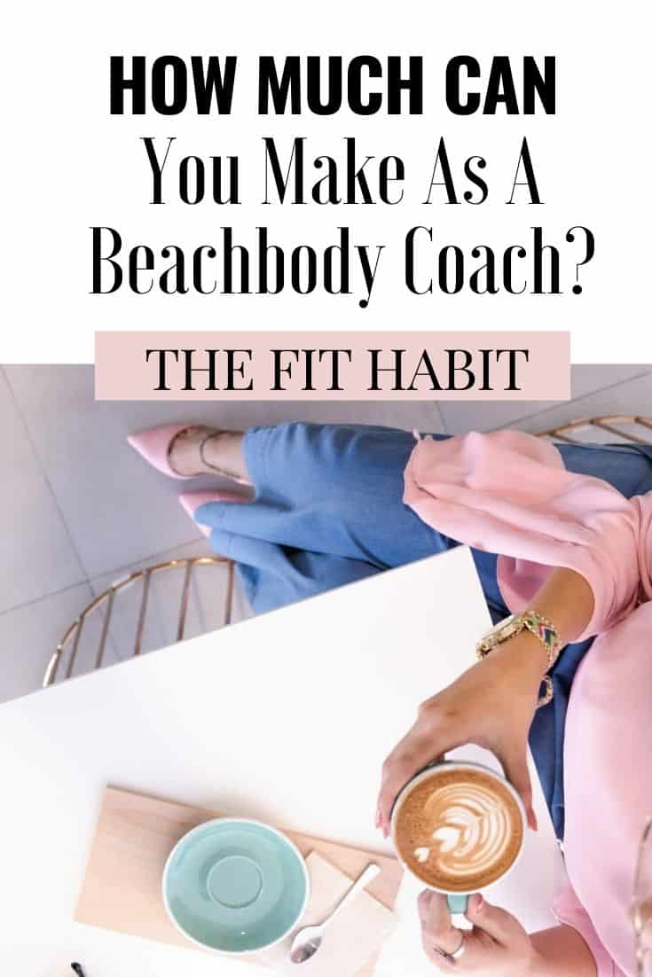 How much can a Beachbody Coach make | Check out the ranks, income potentials and see what it takes to climb the ladder.