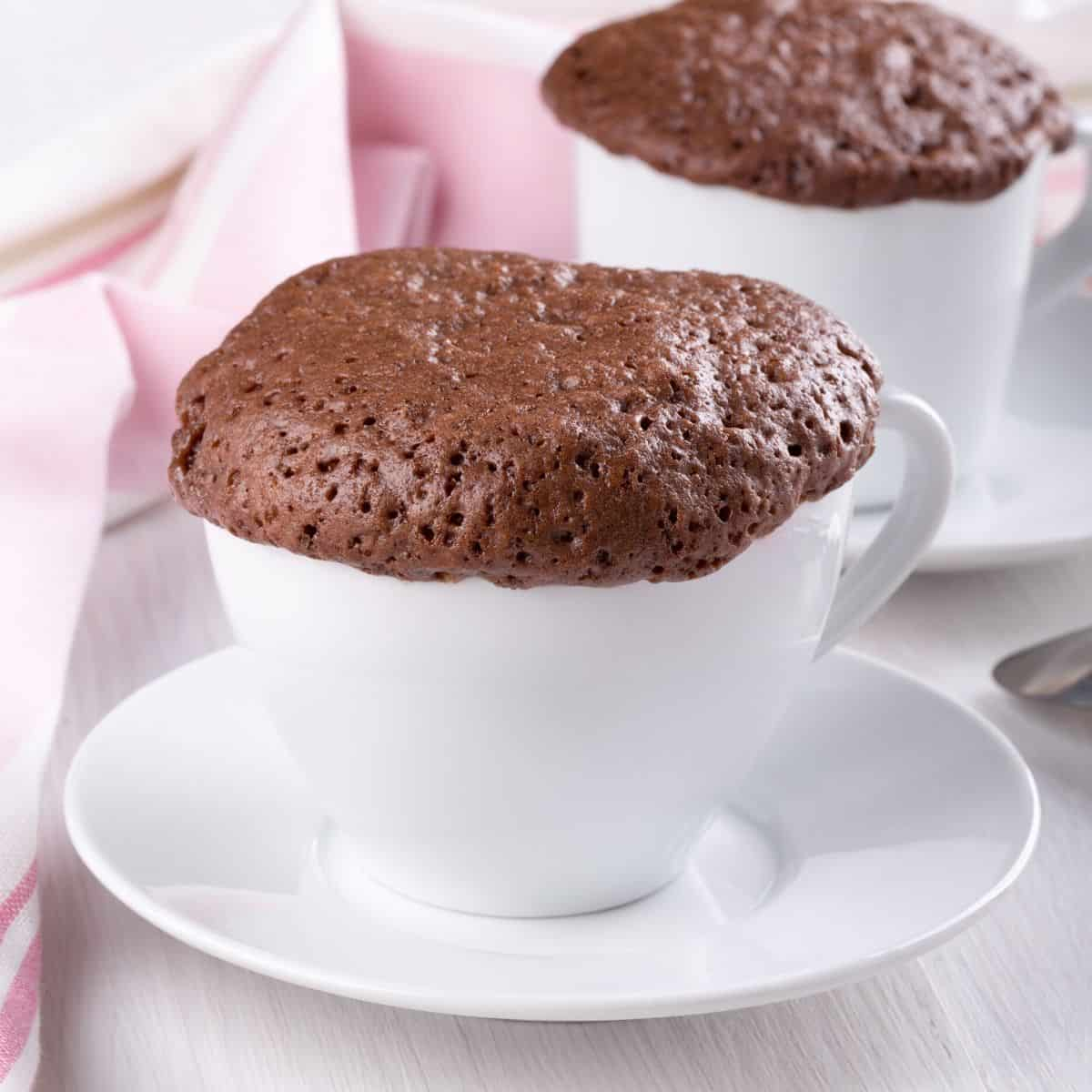 Protein Mug Cake Recipe 60 Seconds In The Microwave