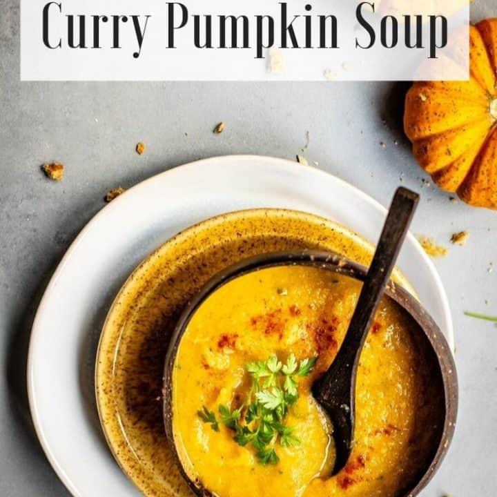 Pumpkin Curry Soup   Paleo & Whole30 Compliant