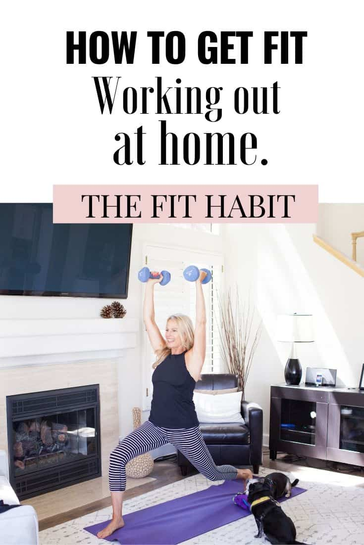 How to workout at home and get RESULTS! | Everything you need to know about starting a workout program at home (and the key thing to remember if you're goal is weight loss).