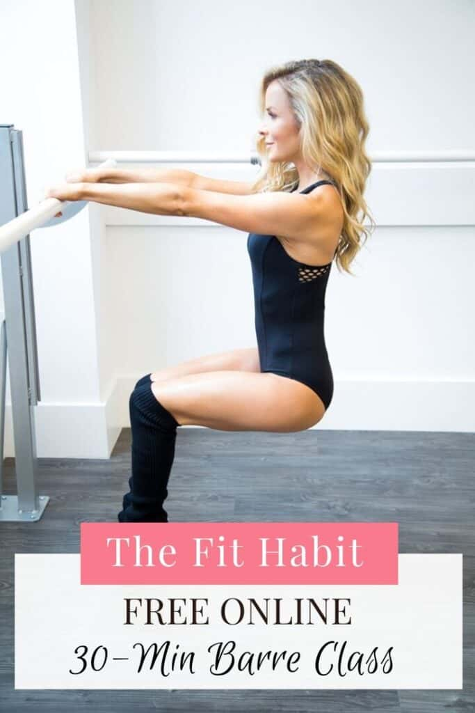 Free Barre Blend Online Workout. 30 Minutes of low-impact ballet inspired exercises you can do anywhere.