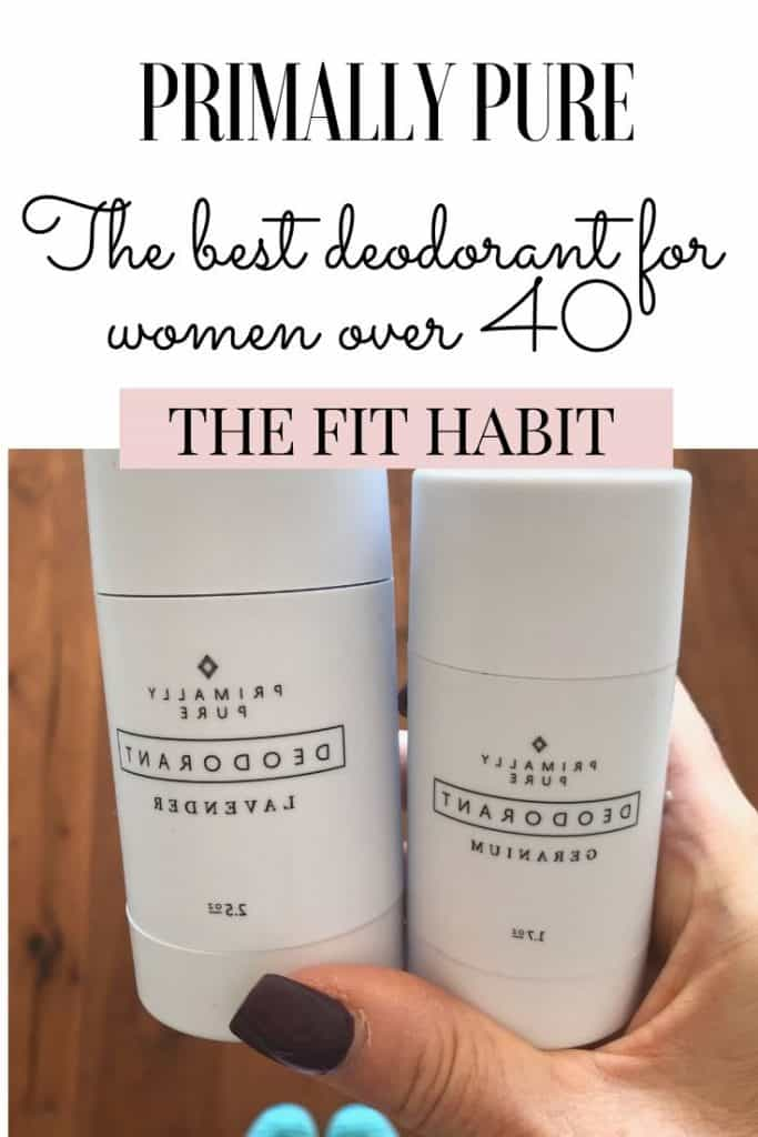 Primally Pure Deodorant | The best option for women over 40 because it won't mess with your hormones.