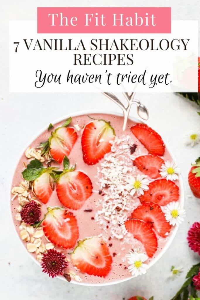 Vanilla Shakeology Recipes | Gluten Free and no sugar added, you will love these smoothies and baked treats