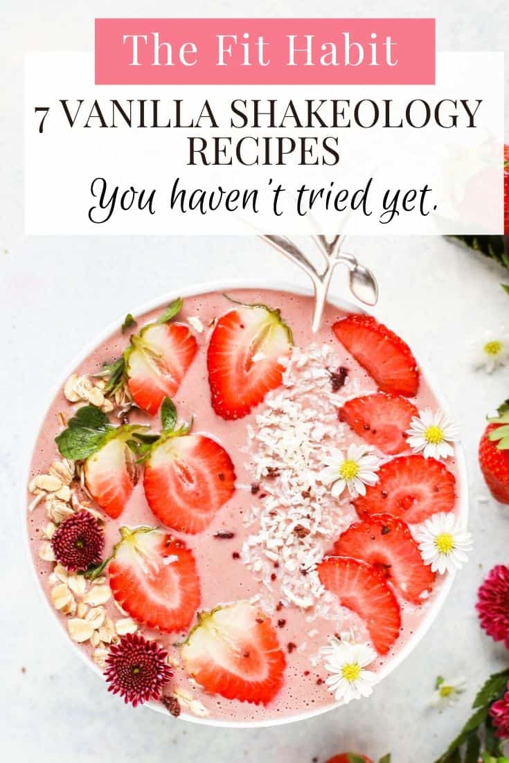 Vanilla Shakeology Recipes   Gluten Free and no sugar added, you will love these smoothies and baked treats