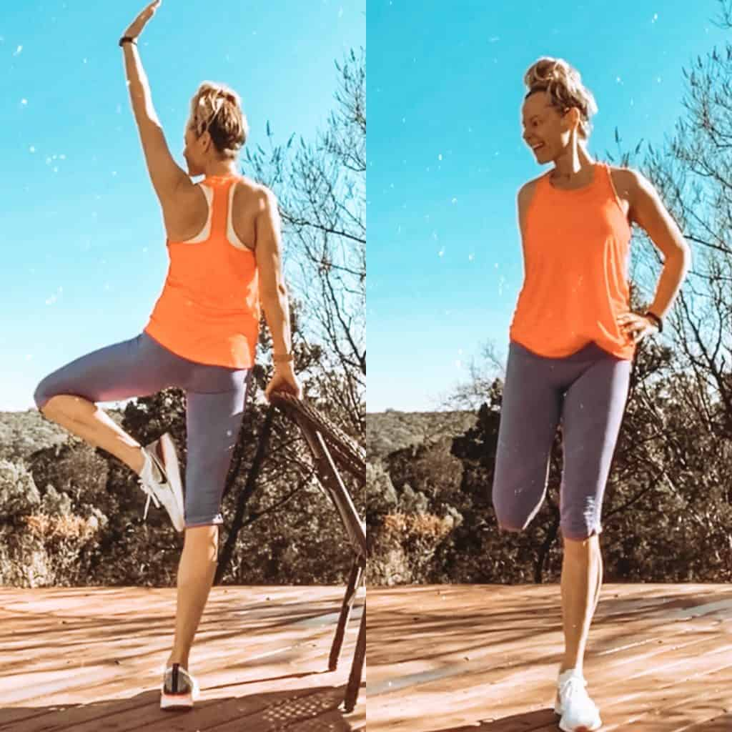 Barre Blend Before and after   At home workout program for legs, butt and abs